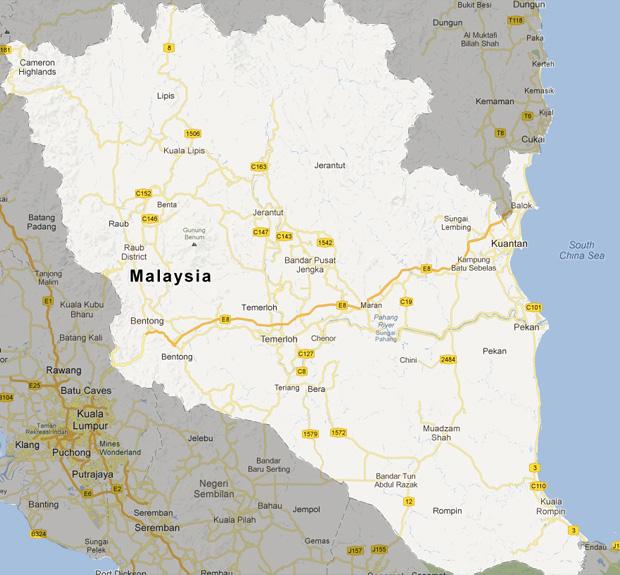 map_pahang