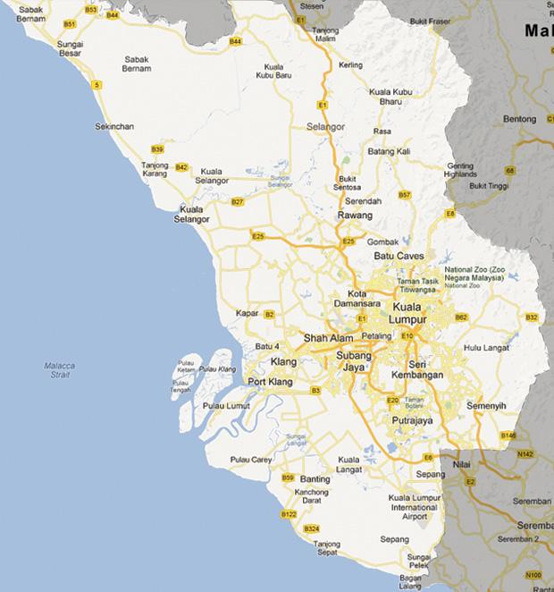 map_selangor