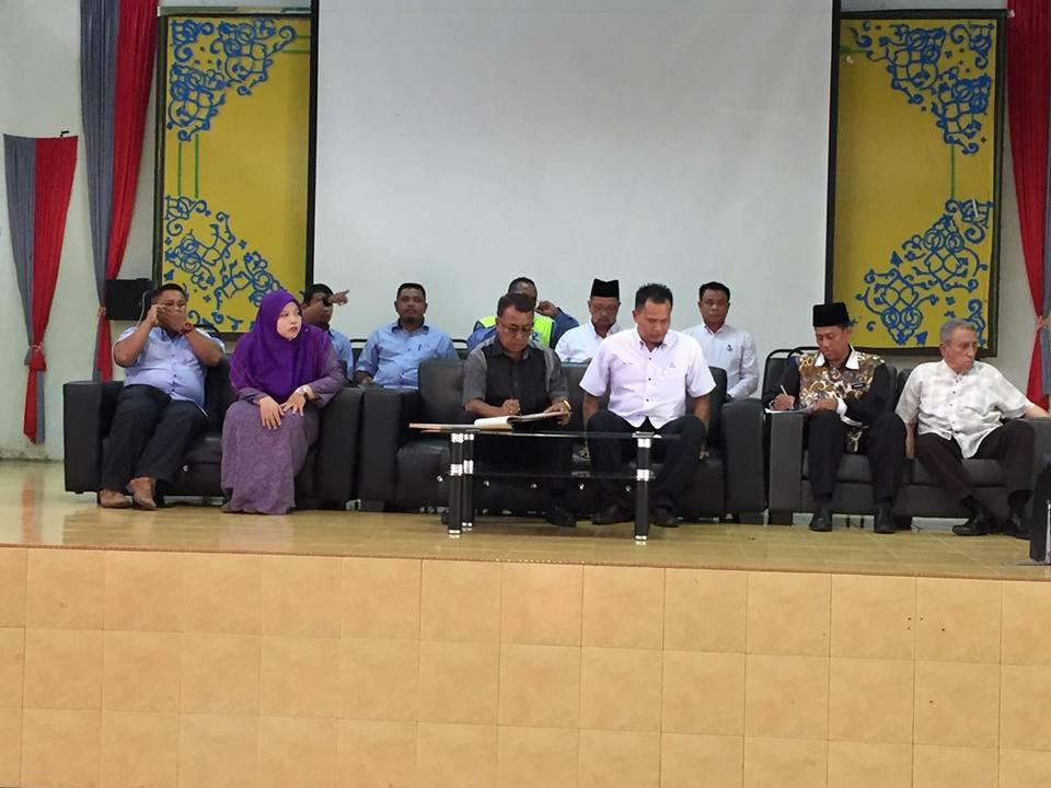 Majlis sumbangan hhsan kepada SMA Maran, Pahang
