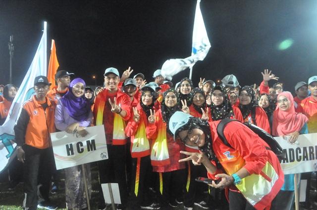 Sukan Kerja Raya Malaysia 2016 @ UTM Skudai Johor Bahru