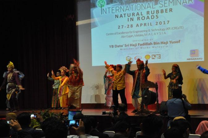 International Seminar National Rubber in Road 2017
