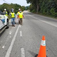 Lawatan pemantauan pihak JKR ke Zon Timur/Tengah Daerah Kuantan Pahang