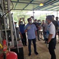 Bersempena Lawatan Menteri Kewangan Dato'Seri Tengku Zafrul di Kuala Kenau, Sg Lembing untuk melihat kawasan banjir.