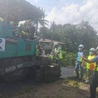 Lawatan Dato' CEO Roadcare (M) Ke Tapak Projek Perkampungan Felda Sg Panching Utara Kuantan Pahang