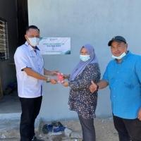 Penyampaian Sumbangan Bantu Baikpulih Rumah Daif Di Daerah Dungun, Terengganu