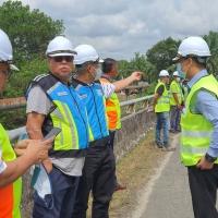 Lawatan Pengarah Urusan & Ketua Pegawai Eksekutif Roadcare (M) Sdn Bhd Ke FT 14, Sek 150 - 151 Jalan Kuala Terengganu - Bukit Besi (Ajil) Terengganu