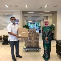 Sumbangan Program Tautan Kasih Kepada Pihak Jabatan Kerja Raya Malaysia