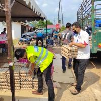 Penyerahan Sumbangan Bantuan Makanan Kepada Penduduk Jengka 12 Pahang